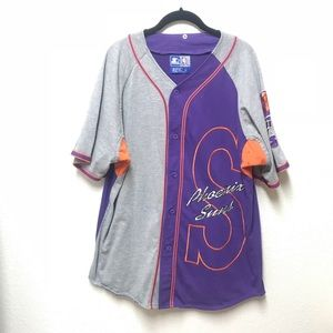 Vintage Phoenix Suns Starter Baseball Jersey